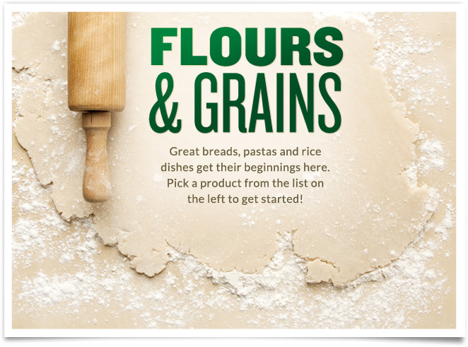 Flours and Grains